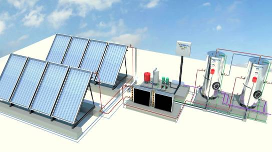 CENTRALIZED WATER HEATING SYSTEMS- 01. SOLAR ENERGY